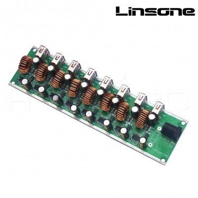 USB CHARGING HUB PCBA 8 PORTS LS-PCBA-H27