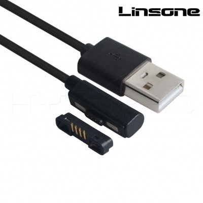 Magnetic 4 pin USB Data Cable
